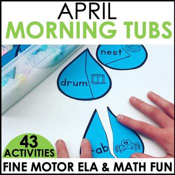 Morning Work Stations - April