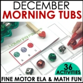 Morning Work Stations - December