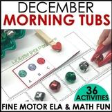 Morning Work Stations - December