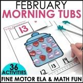 Morning Work Stations - February
