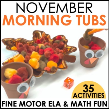 Morning Work Stations - November