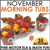 Morning Work Stations - November