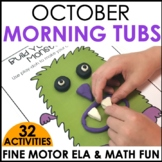 Morning Work Stations - October