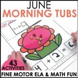 Morning Work Stations - Summer