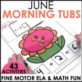 Morning Work Stations - Summer