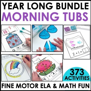 Morning Work Stations-The Big Bundle - Distance Learning