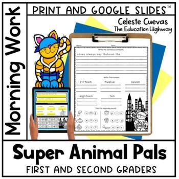 Morning Work Super Hero Buddies