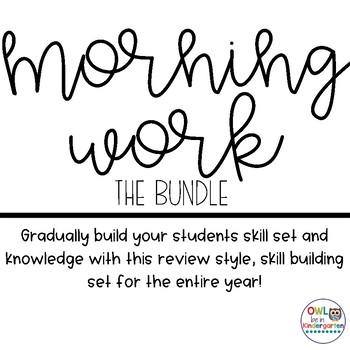 Morning Work: The Bundle