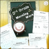 3rd Grade Morning Work  ~ Math & Language Arts for Third Grade Daily Review