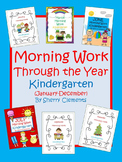 Morning Work Through the Year - Kindergarten (January-December)