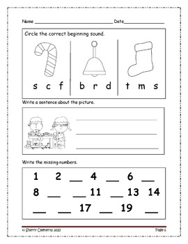 Morning Work Through the Year BUNDLE - Kindergarten (January-December)