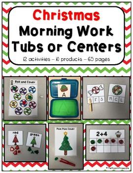 Morning Work Tubs (December)