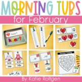 Morning Work Tubs for Kindergarten {February}