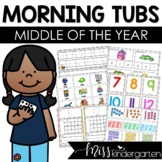 Morning Work Tubs {middle of the year}