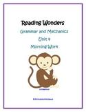 Morning Work - Unit 4 Reading Wonders