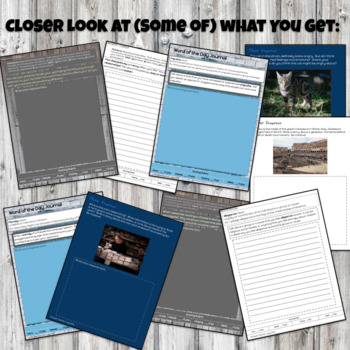 Morning Work Writing Prompts - Narrative Writing - Upper Elementary & Middle