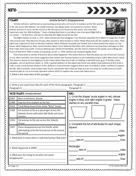 Morning Work Free 10 Days Print and Digital for Google Slides™ Distance Learning