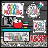Morning Work for First Grade AUG/SEPT NO PREP! Editable