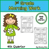 Morning Work for First Grade Fourth Quarter