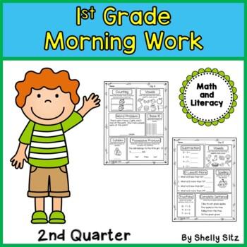 Morning Work for First Grade (Second Quarter)