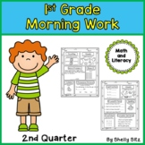 Morning Work for First Grade (Second Quarter)