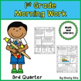 Morning Work for First Grade (Third Quarter) Distance Learning
