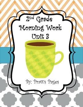 Journey's Unit 3 Morning Work 2nd Grade