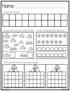 Morning Work for Kindergarten {BUNDLE}