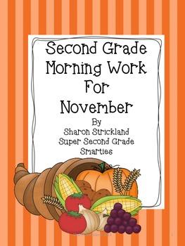 Morning Work for November