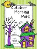 Morning Work for October