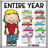 Morning Work for Second Grade Bundle  (Full Year)