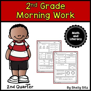 Morning Work for Second Grade (Second Quarter)