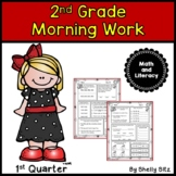 Morning Work for Second Grade (First Quarter)