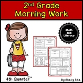 Morning Work for Second Grade (Fourth quarter)