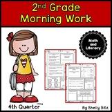 Morning Work for Second Grade Fourth quarter