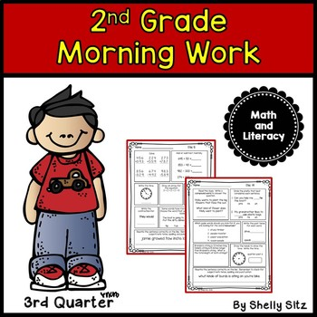 Morning Work for Second Grade (Third Quarter)
