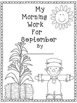 Morning Work for September