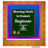 Morning Work for Students
