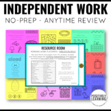 Morning Work for the Resource Room Growing Bundle