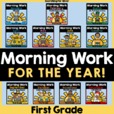 Morning Work for the YEAR {First Grade}