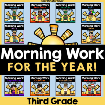 Morning Work for the YEAR {Third Grade}