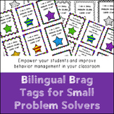 Bilingual Brag Tags for Solving Small Problems