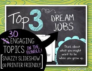 Morning Work with Meaning! Top 3 Lists BUNDLE {Set One, Two, & Three}