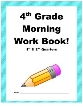 Morning Workbook 1st & 2nd Quarter