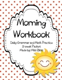 #3 Daily Math and Grammar Practice - 5 Week Packet