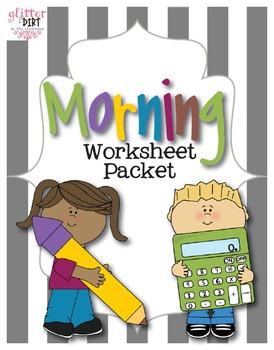 Morning Worksheet Packet