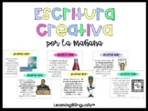 Morning Writing Prompts in Spanish