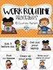 Printable Routines Bundle (Morning, Dismissal, and Work)