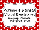 Morning and Dismissal Routine Visual Cards