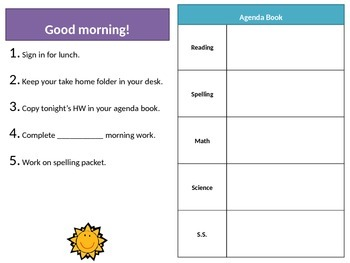 Morning and End of Day Procedures PPT